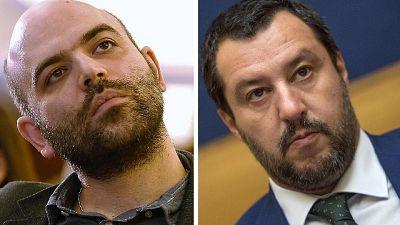 Consiglio Europa: allerta scorta Saviano