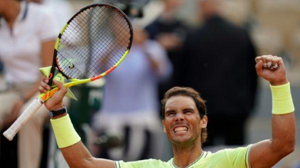 Roland-Garros: Nadal expédie Nishikori et rejoint les demi-finales pour la 12e fois