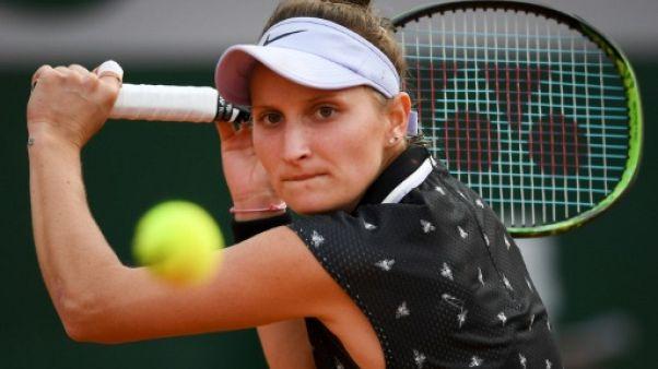 Roland-Garros: première demi-finale à 19 ans pour Vondrousova