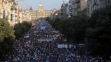 Czech protesters gather to demand PM Babis's fall