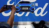 China fines Ford's Changan JV $24 million for violating anti-monopoly law