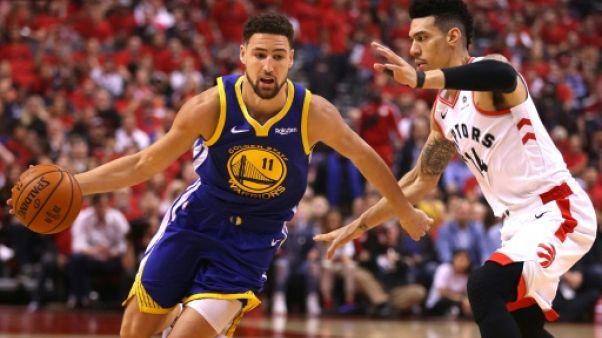 NBA: Thompson, le marathonien de Golden State, confiant pour mercredi