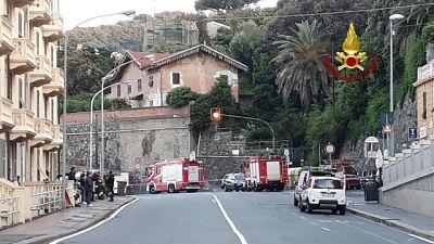 Fuga gas Genova:ferrovia chiusa,sfollati