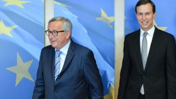 """Jared Kushner a présenté ses """"idées"""" pour le Moyen Orient à Bruxelles"""