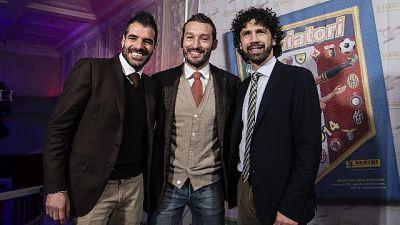 Perrotta e Zambrotta 'Talenti d'Italia'