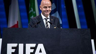Fifa: Infantino rieletto presidente