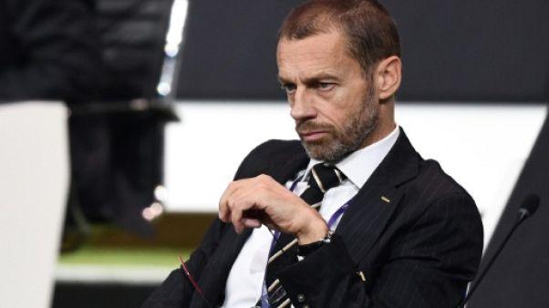 """C1: Ceferin dénonce """"l'ingérence politique"""" de Macron sur la réforme de la Ligue des champions"""