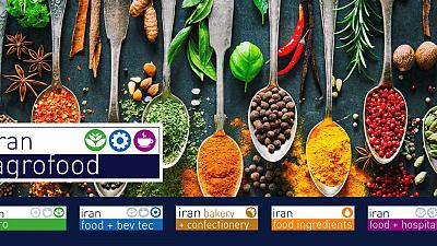Despite difficult business environment in Iran, 865 exhibitors from 21 countries present the entire value chain at iran agrofood 2019
