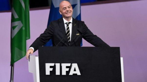 """Fifa: Infantino espère """"50 milliards de dollars"""" de revenus pour le futur Mondial des clubs"""
