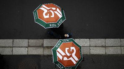 Roland Garros: piove e non si gioca