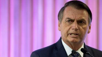 Le président du Brésil Jair Bolsonaro à Rio de Janeiro le 20 mai 2019