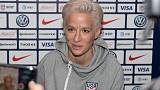 France are the World Cup favourites, says U.S. captain Rapinoe