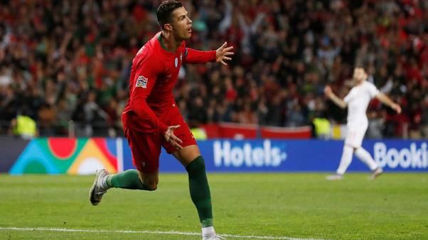 ثلاثية رونالدو ترسل البرتغال لنهائي دوري الأمم