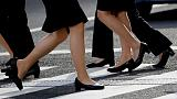 Japanese minister responds to #KuToo campaign by saying high heels 'appropriate'