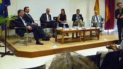 L'Ambassadeur à la conférence-débat sur l'Europe du Lycée Blaise Pascal
