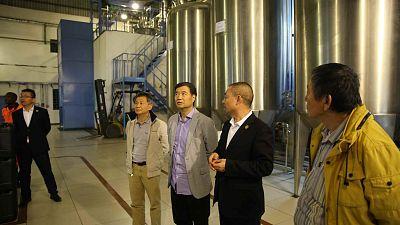 Chinese Ambassador Zhao Yanbo visited F&G Botswana