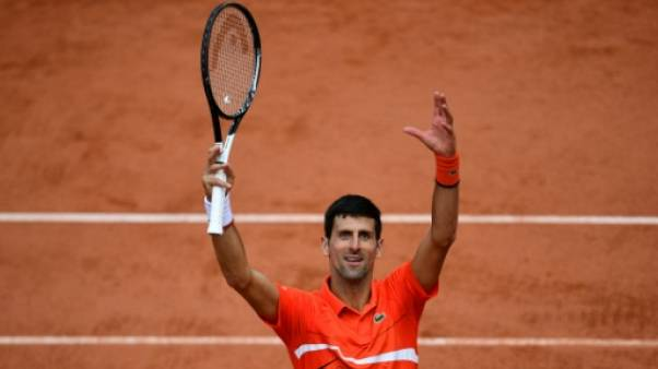 """Roland-Garros: """"Ecrire l'histoire, une des plus grandes sources de motivation"""" de Djokovic"""