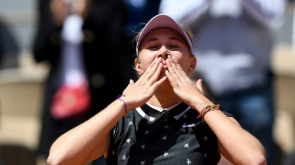 """Roland-Garros: Anisimova a """"joué le meilleur tennis de (sa) vie"""""""
