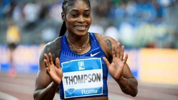 Ligue de diamant: Elaine Thompson domine Dina Asher-Smith sur 100 m à Rome