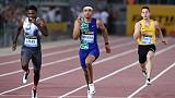 Norman stuns Lyles in Rome to triumph in 200m