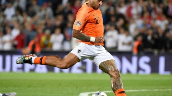 Ligue des nations: les Pays-Bas de Depay en finale face au Portugal