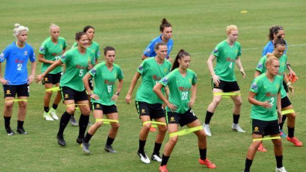 L'équipe d'Australie à l'entraînement, à Sydney, le 27 février 2019