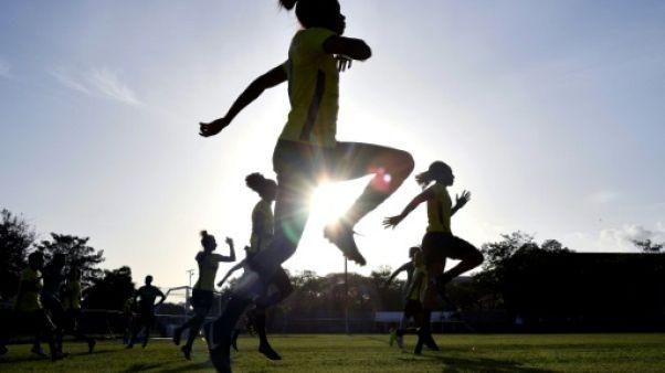 """Les """"Reggae Girlz"""" jamaïcaines à l'assaut de la Coupe du monde"""