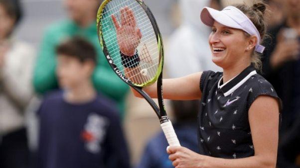 Roland-Garros: première finale en Grand Chelem à 19 ans pour Vondrousova