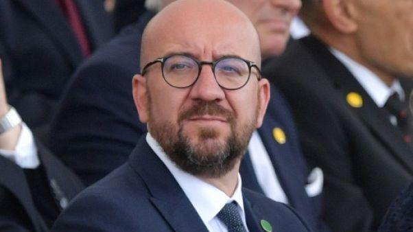 """UE: six Premiers ministres à Bruxelles pour décanter le choix des """"top jobs"""""""
