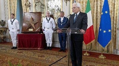Mattarella,salvare vite prestigio Italia