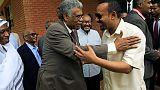 رئيس وزراء إثيوبيا يجتمع مع أعضاء في تحالف المعارضة السوداني