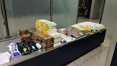 Viaggiava 38 kg farmaci cinesi,denuncia