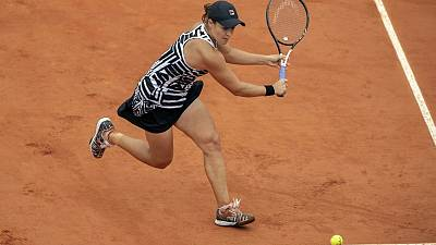 Grinding Barty through to French Open final