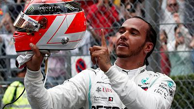 Hamilton fastest in first practice in Canada