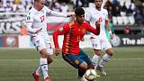 Spain make it three wins out of three with victory over Faroes
