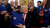 Trump criticises NASA moon mission after promoting it earlier