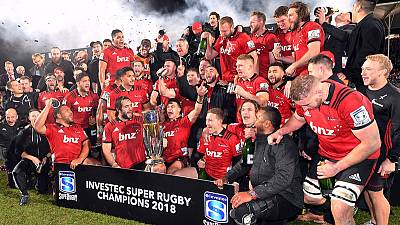 Crusaders to retain name for at least 2020 - NZR chairman