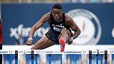 Athlétisme: Holloway passe sous les 13 secondes sur 110 m haies