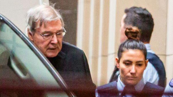 Condamné pour pédophilie, le cardinal Pell visé par une procédure civile