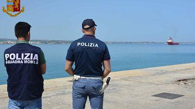 Sbarco a Pozzallo, fermati due scafisti