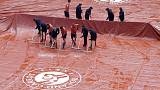 Women's final delayed by men's semi-final and rain in Paris