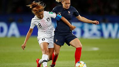 Lyon women inspire France in perfect World Cup opener
