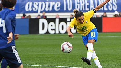 Football - Brazil's Marta will not start Jamaica game: coach