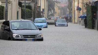 Piogge e temporali in Piemonte-Lombardia