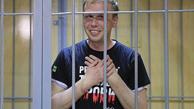 Investigative journalist put under house arrest in Moscow