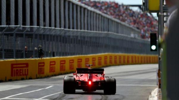GP de F1 du Canada: Ferrari garde les commandes en essais libres 3