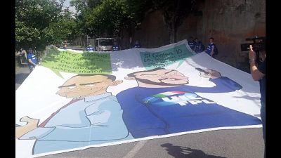 Salvini, nessuna guerra agli striscioni