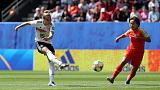 Gwinn wins it as Germany beat China 1-0 in their World Cup opener
