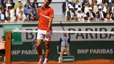 Djokovic angry about weather as his hopes are blown out