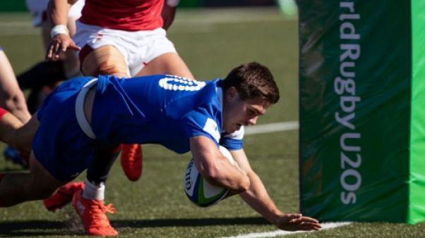 Mondial U20 de rugby: les Bleuets doublent la mise face aux Gallois
